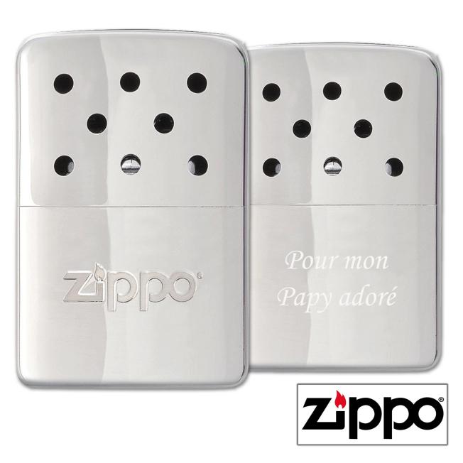 Chauffe-Mains 6H Zippo Personnalisable pour  Zephyr personnalise au...