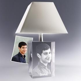 Lampe cadeau déco personnalisée photo