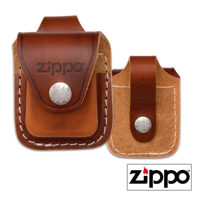 Pochette Cuir Zippo pour  Pochette Zippo en cuir véritable. Cette p...