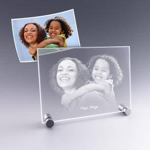 grande plaque photo verre