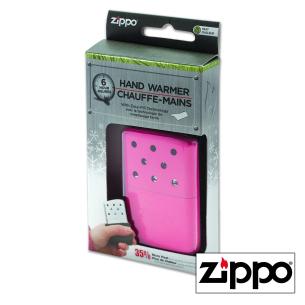 Chauffe-Mains 6H Zippo Rose Personnalisable