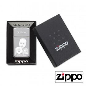 boite cadeau zippo personnalisé photo