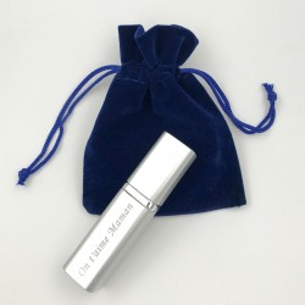 Vaporisateur de Parfum Personnalisable (Argenté) - Cadeau personnal...