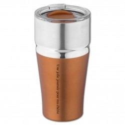 Mug Isotherme Copper Personnalisable pour  Ce mug isotherme double ...