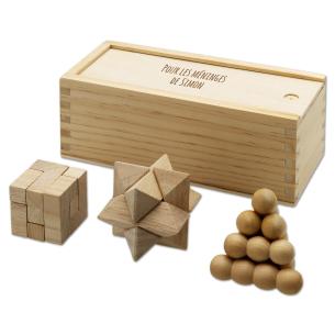 Trouvez l'Idée Cadeau Parfaite – Casse-Tête Chinois en Bois Personn...