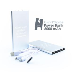 Chargeur de Batterie Personnalisable (6 000 mAh) pour  Hyper pratiq...