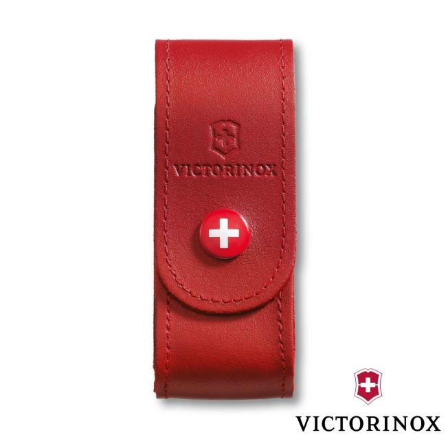 Étui-Ceinture Cuir Victorinox - 6 à 15 Fonctions - Rouge pour  L'ét...