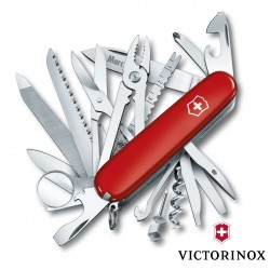 Couteau Swiss Champ Victorinox 33 Fonctions Personnalisable pour  O...