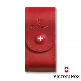 Étui-ceinture Cuir Victorinox - 15 à 33 Fonctions - Rouge