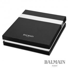 Coffret cadeau Balmain Stylo à Bille et Bloc-Notes Noir