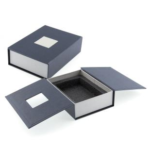 Boite cadeau bloc facetté avec photo