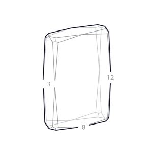 dimensions bloc verre photo