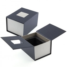 Emballage cadeau bougeoir verre 3D