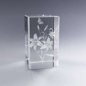 Bloc Vertical 3D Fleurs de Lys