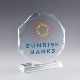 Trophée verre SunFlower...