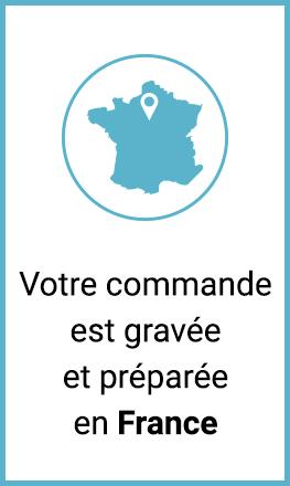 Votre cadeau gravé en France