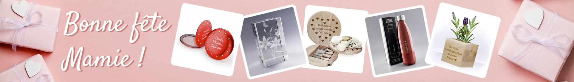 Pour la fête des Grands-mères, Offrez un Cadeau personnalisé avec le texte de votre choix