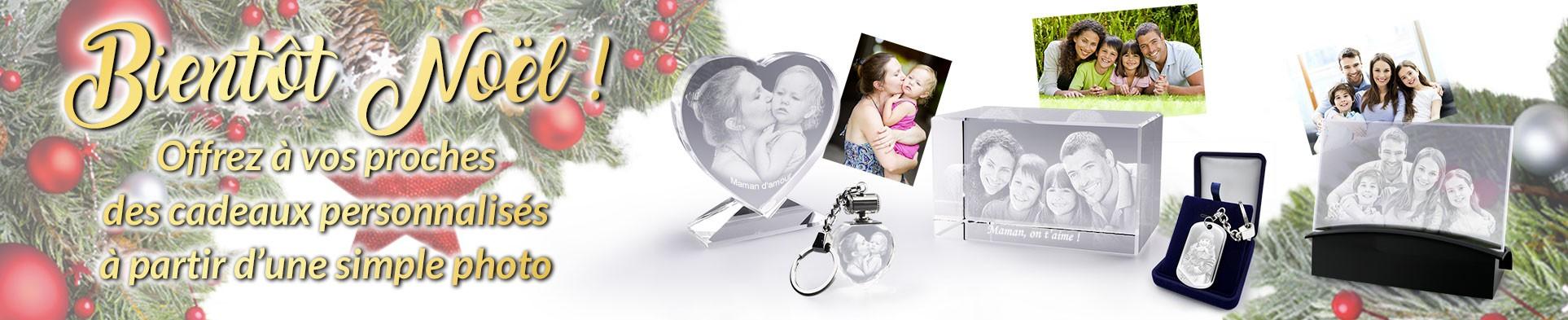 Pour Noël, Offrez un Cadeau Photo personnalisé à partir d'une simple photo